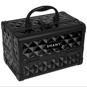 Other - SHANY Mini Makeup Train Case With Mirror - Twilit